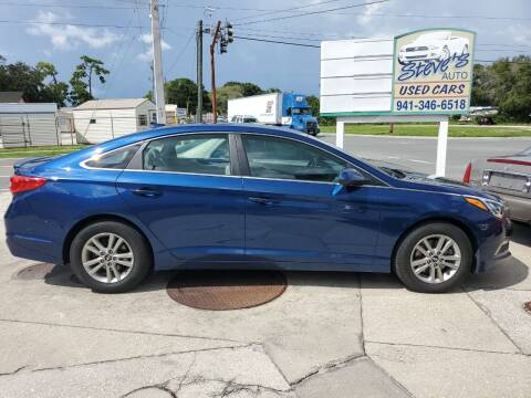2015 Hyundai Sonata for sale at Steve's Auto Sales in Sarasota FL