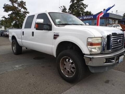 2008 Ford F-250 Super Duty for sale at All American Motors in Tacoma WA