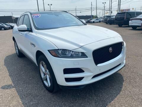 2018 Jaguar F-PACE for sale at M-97 Auto Dealer in Roseville MI