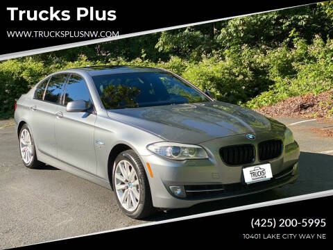2012 BMW 5 Series for sale at Trucks Plus in Seattle WA
