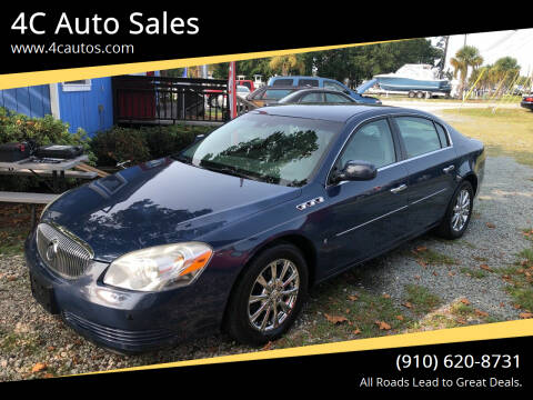 2009 Buick Lucerne for sale at 4C Auto Sales in Wilmington NC