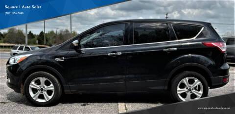2015 Ford Escape for sale at Square 1 Auto Sales - Commerce in Commerce GA