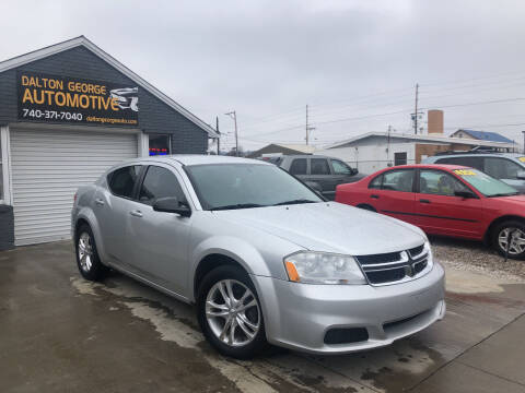 2011 Dodge Avenger for sale at Dalton George Automotive in Marietta OH