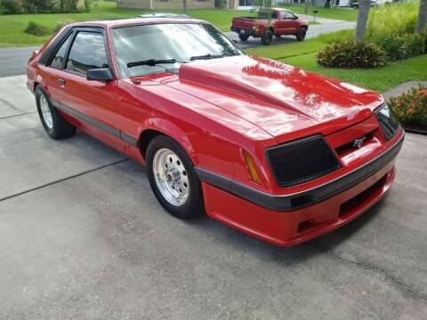 1986 Ford Mustang for sale at Classic Car Deals in Cadillac MI
