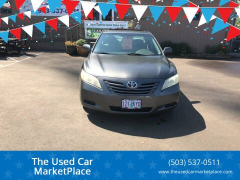 2009 Toyota Camry for sale at The Used Car MarketPlace in Newberg OR