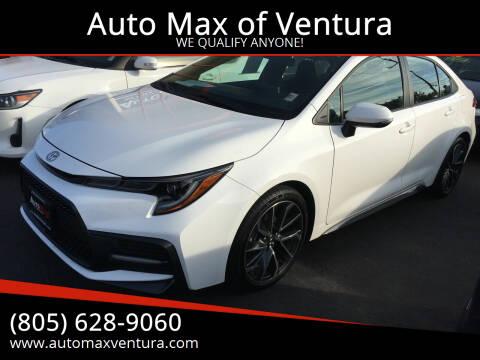 2020 Toyota Corolla for sale at Auto Max of Ventura in Ventura CA