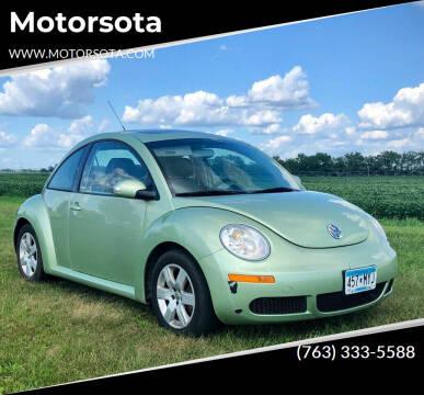 2007 Volkswagen New Beetle for sale at Motorsota in Becker MN