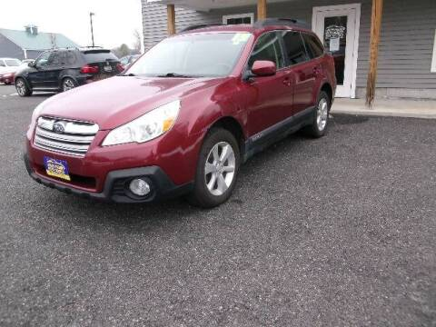 2013 Subaru Outback for sale at Lakes Region Auto Source LLC in New Durham NH