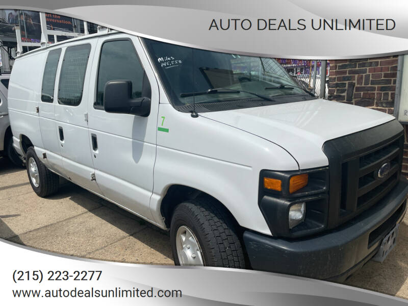 2008 Ford E-Series Cargo for sale at AUTO DEALS UNLIMITED in Philadelphia PA