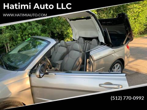 2008 Chrysler Sebring for sale at Hatimi Auto LLC in Buda TX