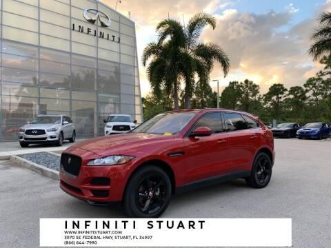 2018 Jaguar F-PACE for sale at Infiniti Stuart in Stuart FL