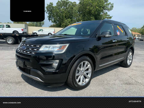 2016 Ford Explorer for sale at C. Cox Auto Sales Inc in Joplin MO