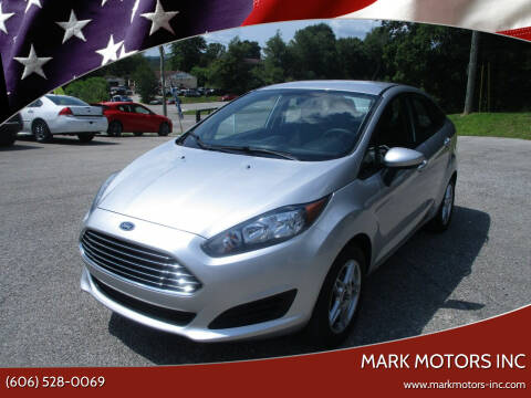 2019 Ford Fiesta for sale at Mark Motors Inc in Gray KY