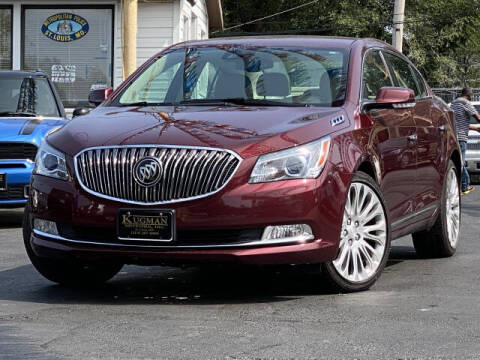 2015 Buick LaCrosse for sale at Kugman Motors in Saint Louis MO