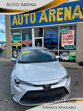 2020 Toyota Corolla for sale at Auto Arena in Fairfield OH