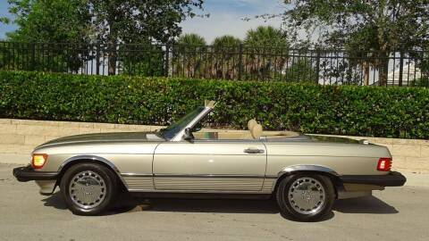 1989 Mercedes-Benz 560-Class for sale at Premier Luxury Cars in Oakland Park FL