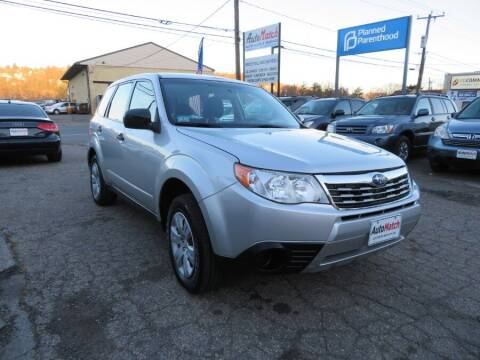2010 Subaru Forester for sale at Auto Match in Waterbury CT