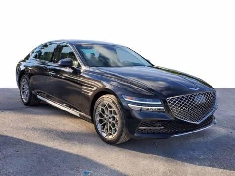 2021 Genesis G80 for sale at DORAL HYUNDAI in Doral FL