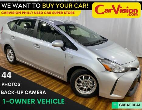 2016 Toyota Prius v for sale at Car Vision Mitsubishi Norristown - Car Vision Philly Used Car SuperStore in Philadelphia PA