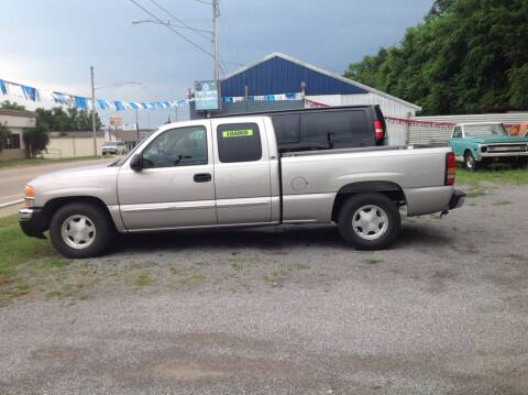 2004 GMC Sierra 1500 for sale at GIB'S AUTO SALES in Tahlequah OK