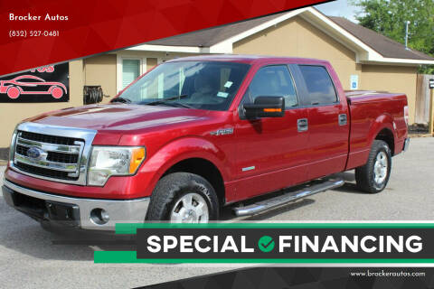 2013 Ford F-150 for sale at Brocker Autos in Humble TX