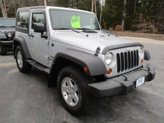 2010 Jeep Wrangler for sale at Route 4 Motors INC in Epsom NH