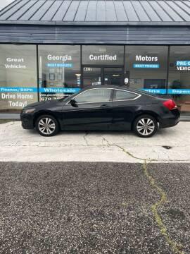 2012 Honda Accord for sale at Georgia Certified Motors in Stockbridge GA