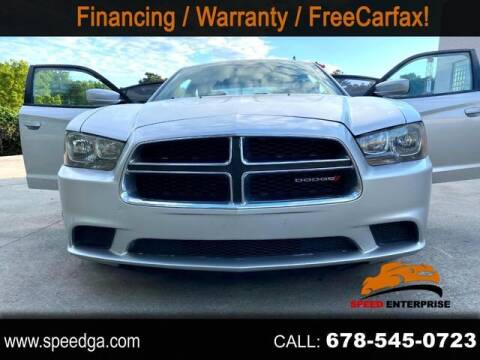2012 Dodge Charger for sale at JES Auto Sales LLC in Fairburn GA