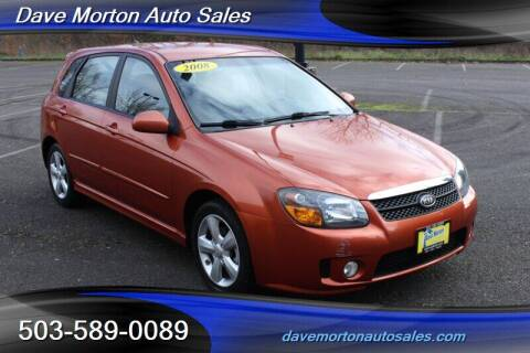 2008 Kia Spectra for sale at Dave Morton Auto Sales in Salem OR