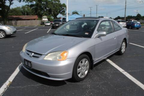2001 Honda Civic for sale at Drive Now Auto Sales in Norfolk VA
