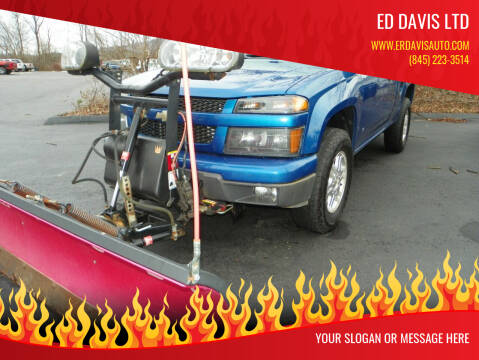 2009 Chevrolet Colorado for sale at Ed Davis LTD in Poughquag NY