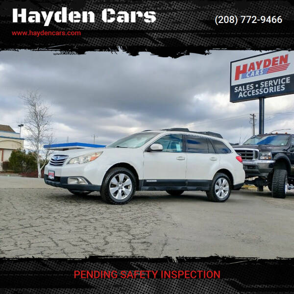 2010 Subaru Outback for sale at Hayden Cars in Coeur D Alene ID