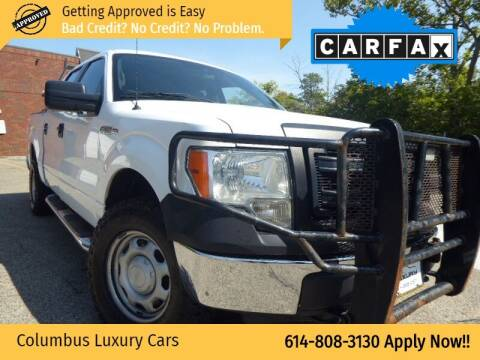 2013 Ford F-150 for sale at Columbus Luxury Cars in Columbus OH
