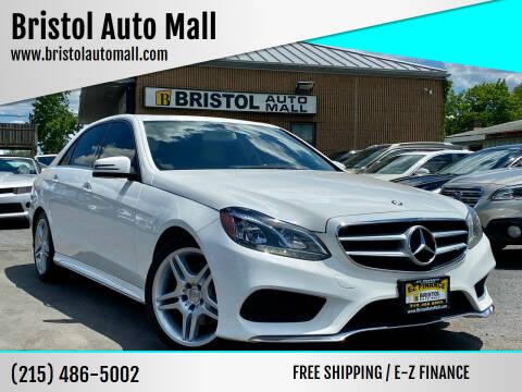 2014 Mercedes-Benz E-Class for sale at Bristol Auto Mall in Levittown PA