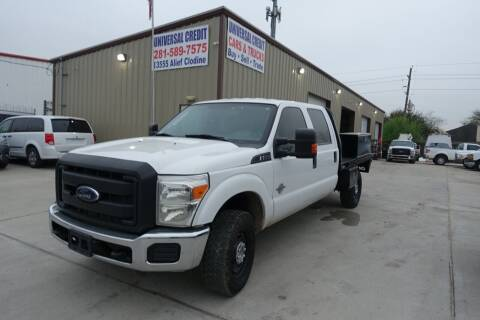 2014 Ford F-350 Super Duty for sale at Universal Credit in Houston TX