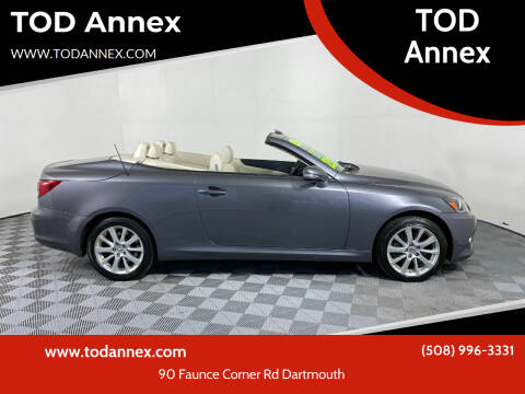 2015 Lexus IS 350C for sale at TOD Annex in North Dartmouth MA