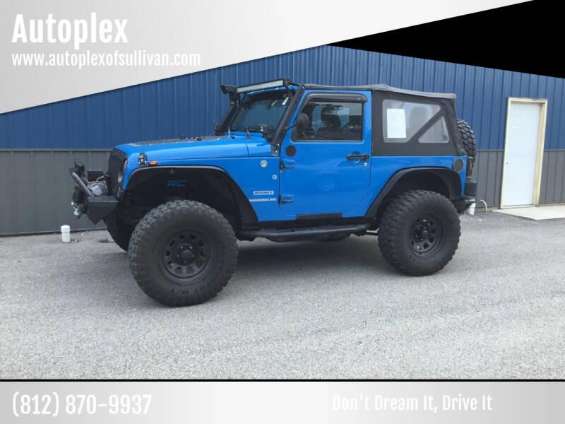 2011 Jeep Wrangler for sale at Autoplex in Sullivan IN