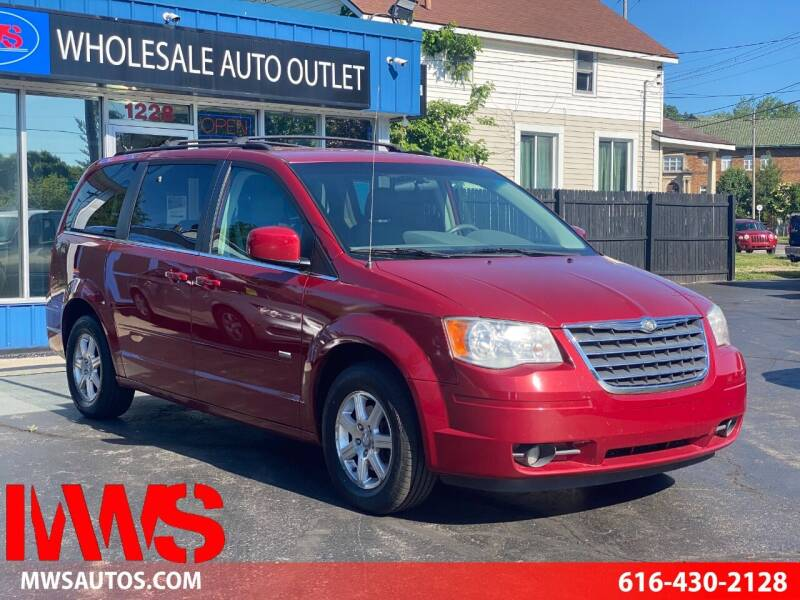2008 Chrysler Town and Country for sale at MWS Wholesale  Auto Outlet in Grand Rapids MI