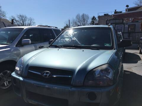 2008 Hyundai Tucson for sale at Chambers Auto Sales LLC in Trenton NJ
