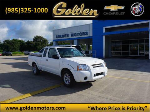 2004 Nissan Frontier for sale at GOLDEN MOTORS in Cut Off LA