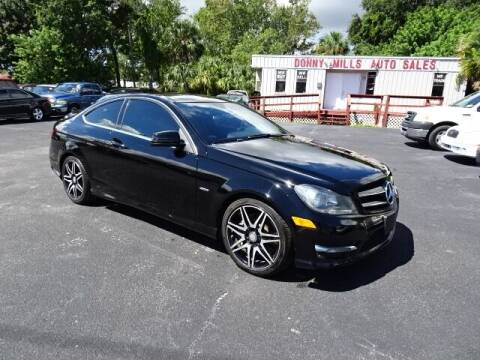 2015 Mercedes-Benz C-Class for sale at DONNY MILLS AUTO SALES in Largo FL