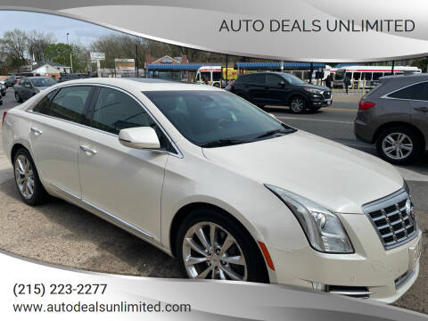 2013 Cadillac XTS for sale at AUTO DEALS UNLIMITED in Philadelphia PA