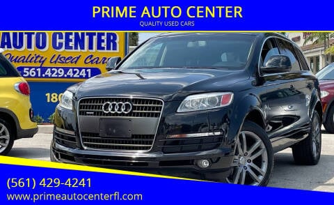 2009 Audi Q7 for sale at PRIME AUTO CENTER in Palm Springs FL