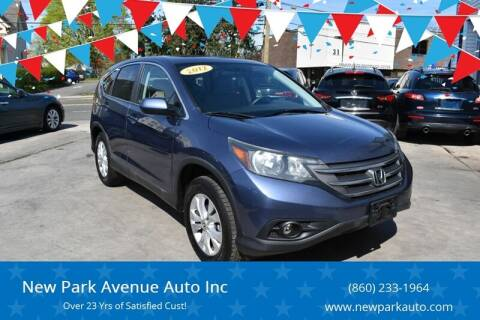 2012 Honda CR-V for sale at New Park Avenue Auto Inc in Hartford CT