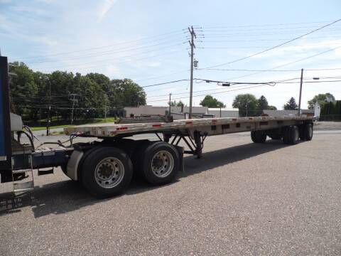 1996 Ravens aluminum flat bed for sale at Recovery Team USA in Slatington PA
