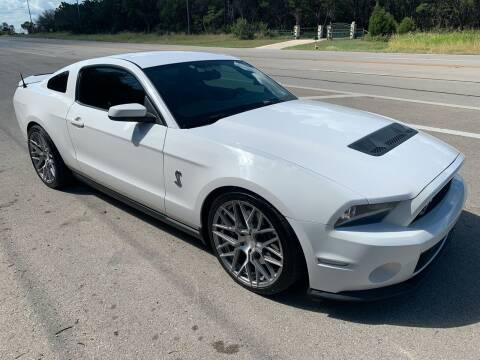 2010 Ford Shelby GT500 for sale at TROPHY MOTORS in New Braunfels TX