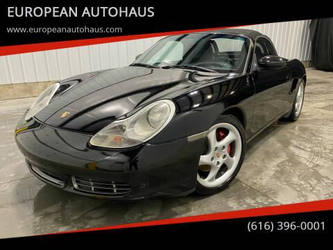 2000 Porsche Boxster for sale at EUROPEAN AUTOHAUS in Holland MI