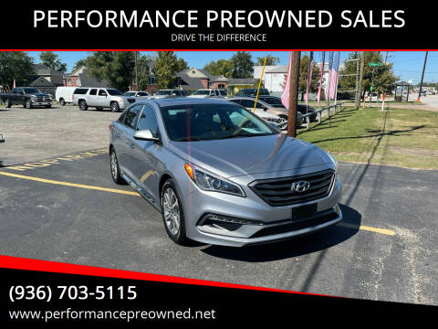 2017 Hyundai Sonata for sale at PERFORMANCE PREOWNED SALES in Conroe TX