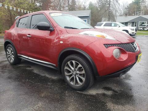 2012 Nissan JUKE for sale at A-1 Auto in Pepperell MA