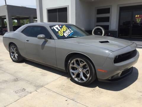 2017 Dodge Challenger for sale at A & V MOTORS in Hidalgo TX